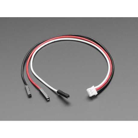 Cable JST PH 3 pin vers connecteur femelle - 200mm
