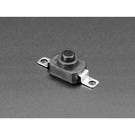 Mini interrupteur bouton-poussoir marche/arret