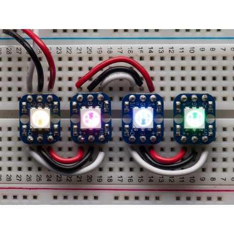 RGB Smart NeoPixel - Lot de 4 pieces