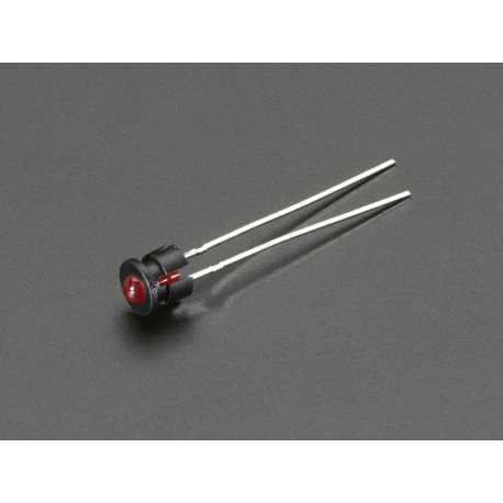 Support LED a biseau en plastique de 3mm - paquet de 5