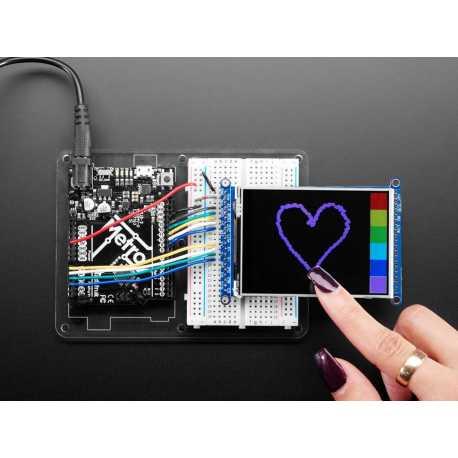"""Ecran LCD TFT 3,2"""" tactile avec microSD - ILI934141"""