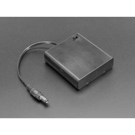 Bloc Pile 4xAA et connecteur Jack 2,1mm