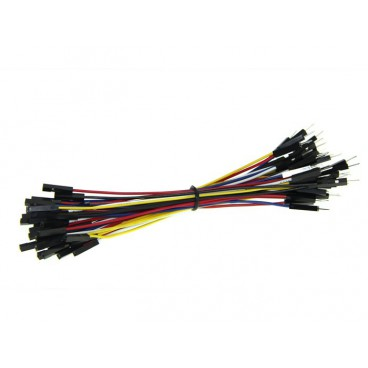 Kit of 50 Male - female 125mm wires