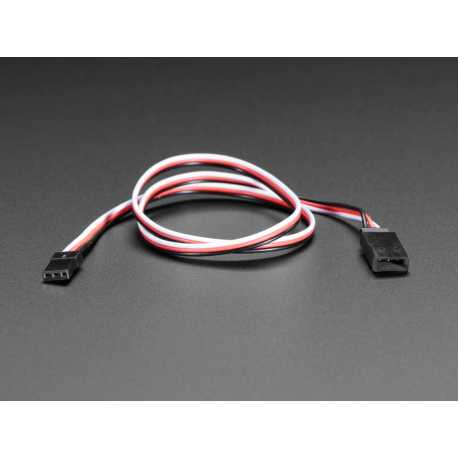 "Servo Extension Cable - 50cm / 19.5"" long"