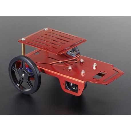 Robot Mini Rover Chassis Kit - 2WD avec moteurs CC