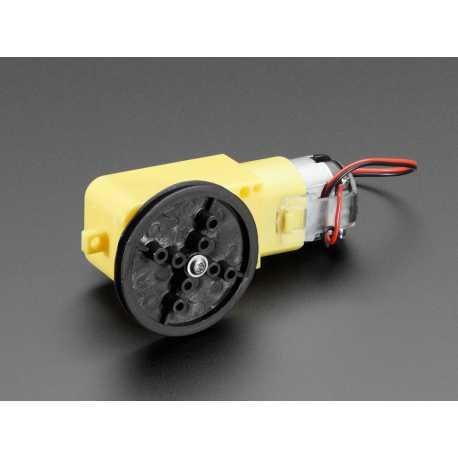TT Motor Pulley - 36mm Diameter