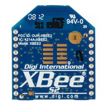 Xbee series 2 module with antenna PCB