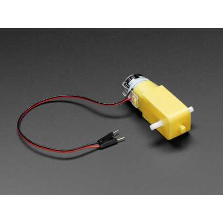 """Motoreducteur a courant continu - """"TT Motor"""" - 200RPM - 3 a 6VDC"""