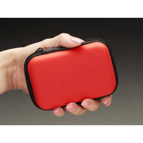 Maker-Friendly Zipper Case - Red