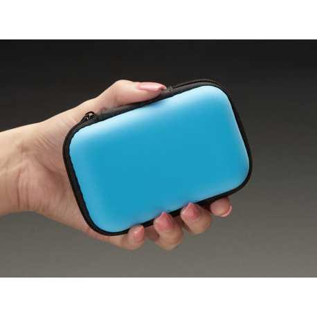 Maker-Friendly Zipper Case - Light Blue