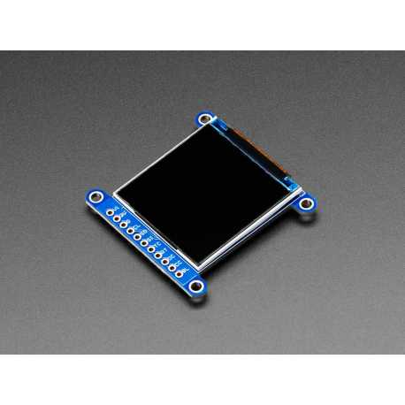 "Ecran LCD 1.54"" 240x240 grand angle TFT avec MicroSD - ST7789"