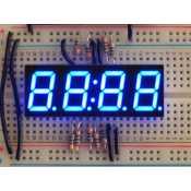 """Afficheur Horloge 7 segments bleu 4 digits - 0,56"""""""