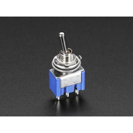 Mini Panel Mount SPDT Toggle Switch