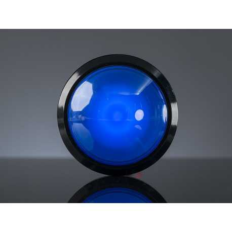 Button Arcade giant 100mm with blue LED