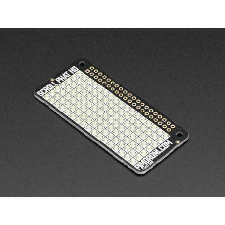 Scroll pHAT HD - Matrice LED pour Raspberry Pi Zero