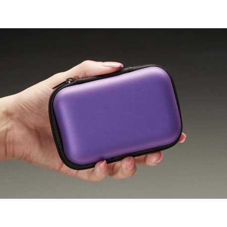 Maker-Friendly Zipper Case - Purple