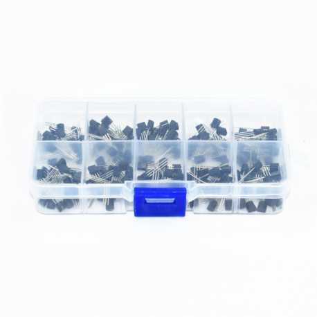 Pack of 200 Transistors