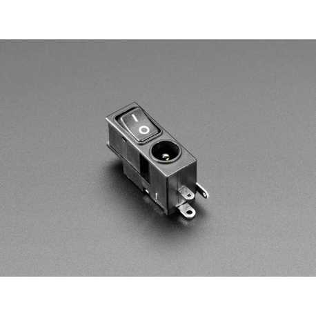 Prise d'alimentation Power Jack DC 2.1mm avec interrupteur Rocket