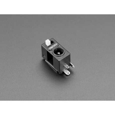 Prise d'alimentation Power Jack DC 2.1mm avec interrupteur a glissiere