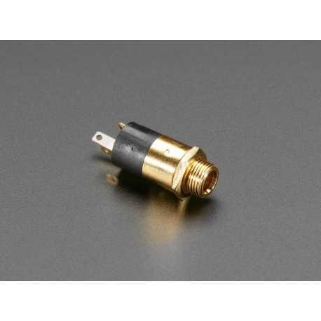 Connecteur jack TRS 3,5 mm pour montage Panneau