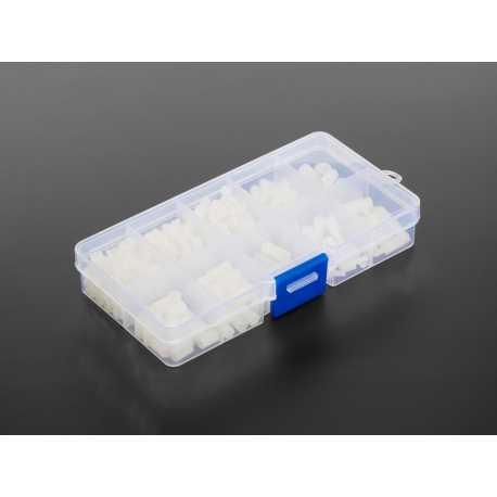 Pack de visserie Nylon Blanc - Filetage M2.5