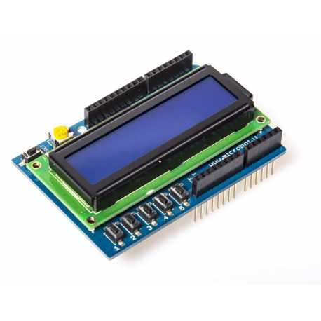 Shield LCD 16 x 2 for Arduino