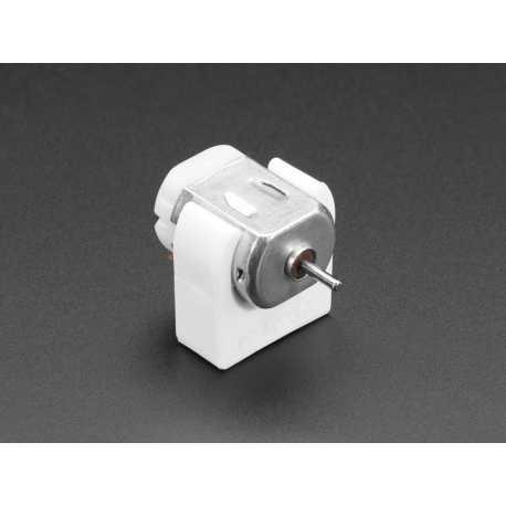 DC Motor Plastic Mount - 130 Size - 20mm Diameter
