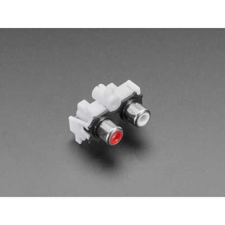 Connecteur audio double RCA pour Adafruit I2S Audio Bonnet