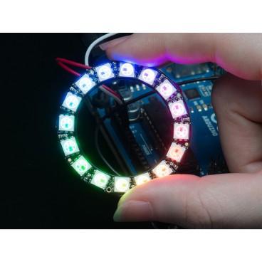 NeoPixel Ring avec 16 LED RGB LED et driver integre