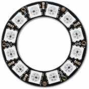 NeoPixel Ring avec 12 LED RGB LED et driver integre