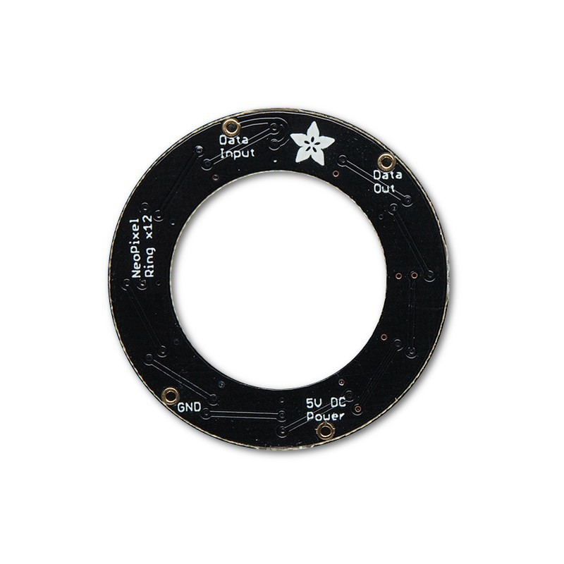 NeoPixel Ring with 12 LED RGB LED and driver integrated