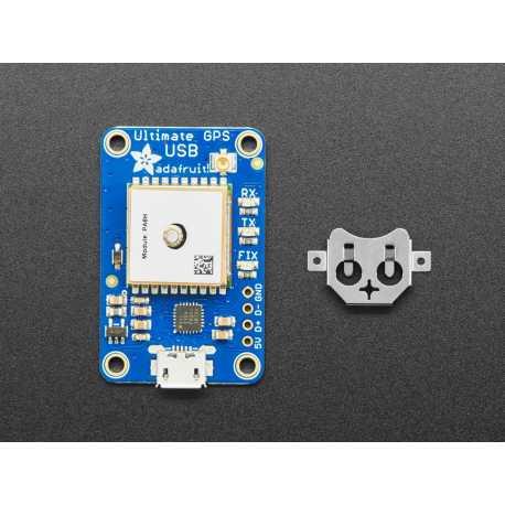 Adafruit Ultimate GPS avec USB - 66 canaux avec mises a jour 10 Hz