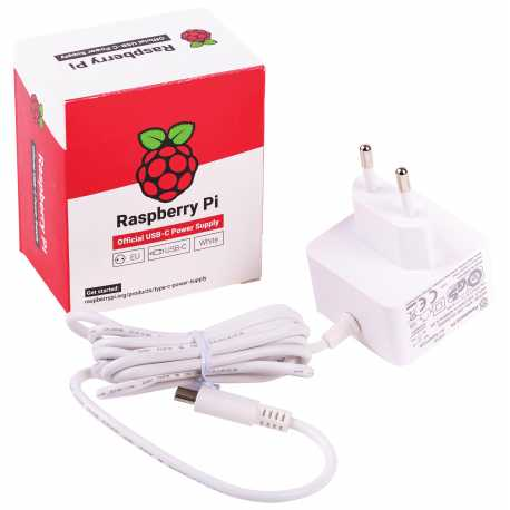 Official Power Supply Raspberry 5V 3A PI4 USB-C
