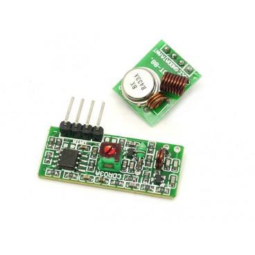Modules emetteur et recepteur RF 433 MHz