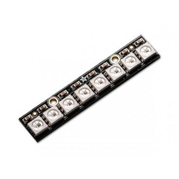NeoPixel Stick avec 8 LED RGB LED et driver integre