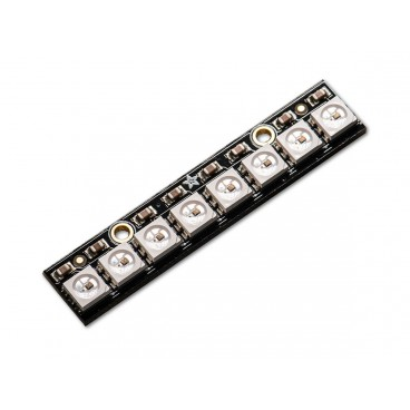 NeoPixel Stick with 8 LED RGB LED and driver integrated