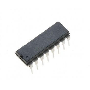 CD4543BE : DECODEUR BCD 7 segments compatible MC14543