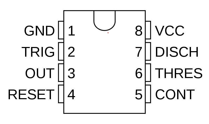Symbole NE555