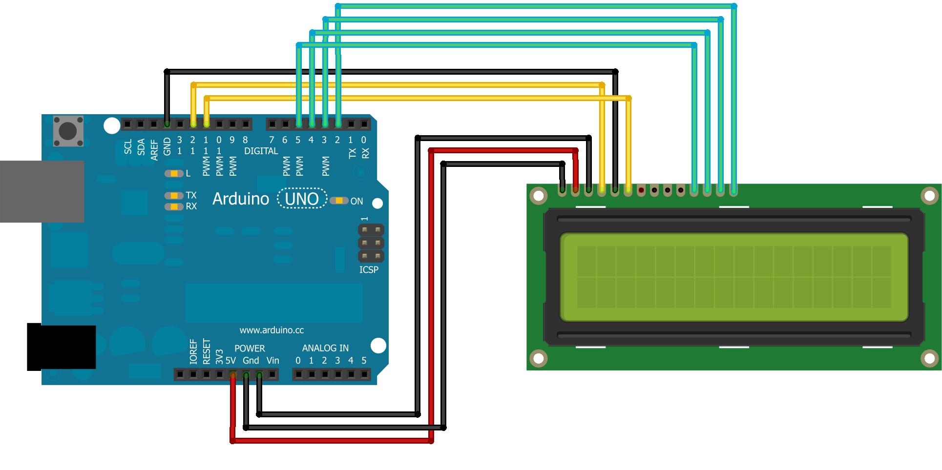 Arduino affichage lcd