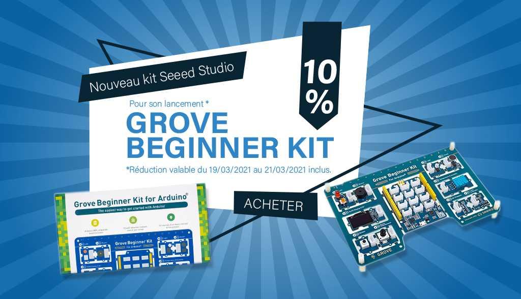 Nouveau kit Seeed Studio